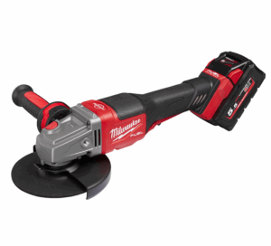 Milwaukee® M18 FUEL™ Braking Grinders Generate Power of a Corded Equivalent