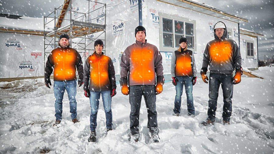 Article Zone Outillage - Blousons chauffant Milwaukee : la gamme la plus complète du marché
