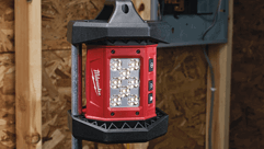 Milwaukee® Floods the Jobsite for Maximum Productivity