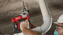 Milwaukee® Introduces Cordless Compact SDS Plus Rotary Hammer