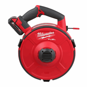 MILWAUKEE® M18 FPFT is the World's FIRST Battery Powered Fish Tape Solution!