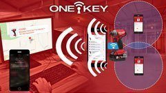 Milwaukee® Introduces Integrated Tool Tracking with all ONE-KEY™ Tools.